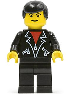 Bricker LEGO Minifigure Lea001 Leather Jacket With