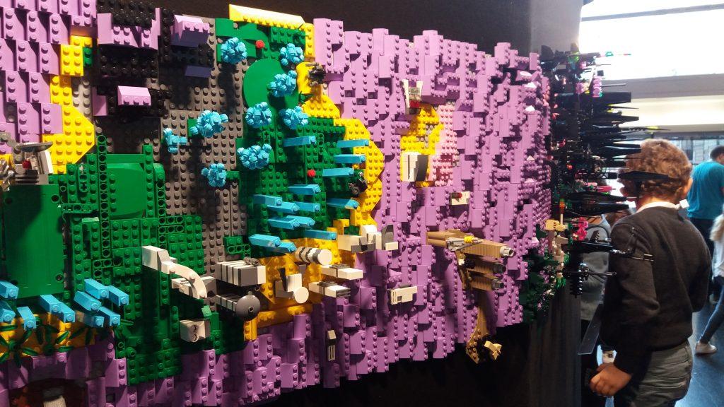 animation Lego Utopiales 2017
