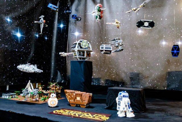 Stand Star Wars en Lego