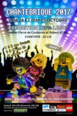 affiche de l'expo Lego de Chantepie