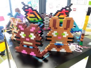 animaux en pixel art Lego
