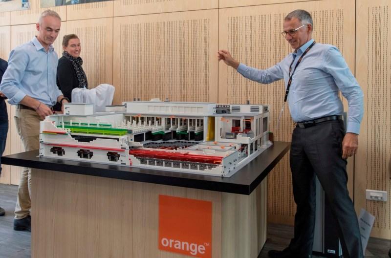 maquette data center Orange
