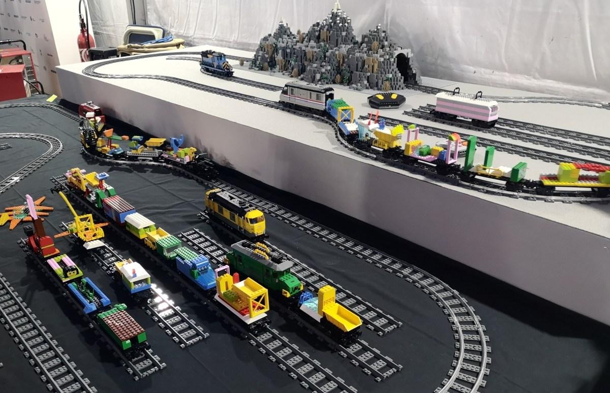 atelier trains Lego