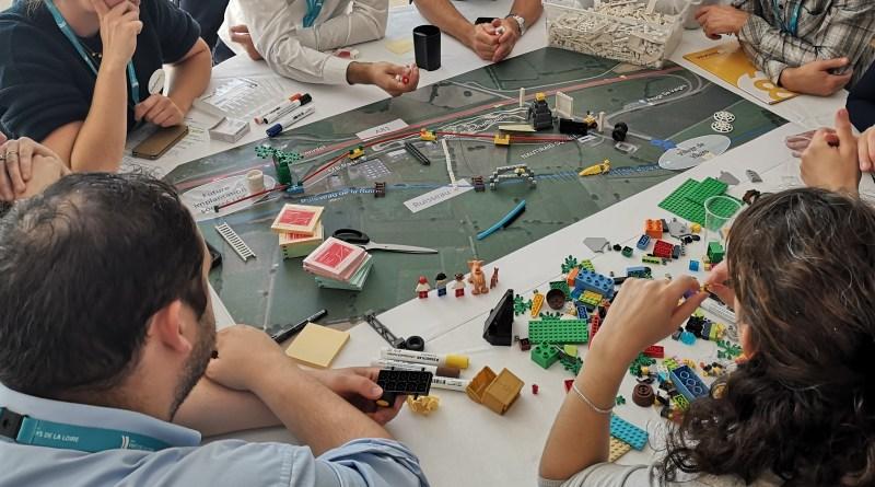 Réflexion en 3D avec des briques LEGO