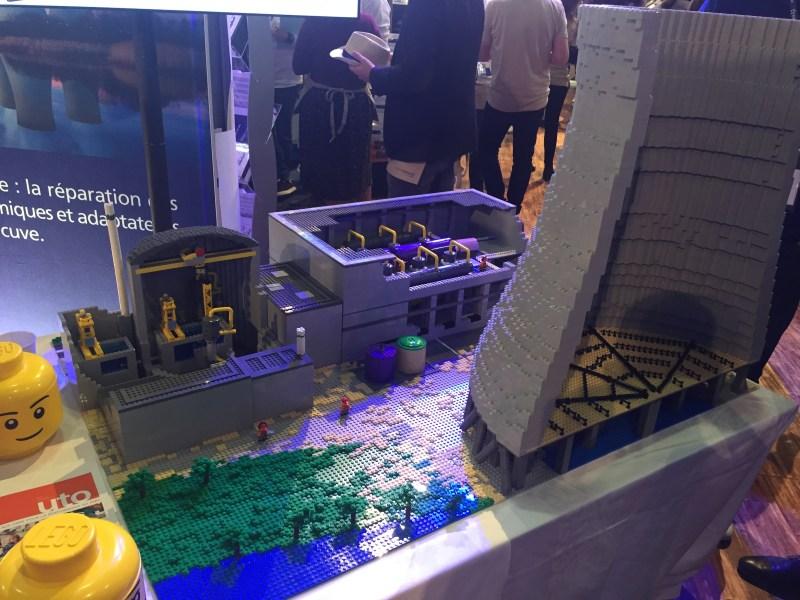 écorché centrale nucléaire Lego