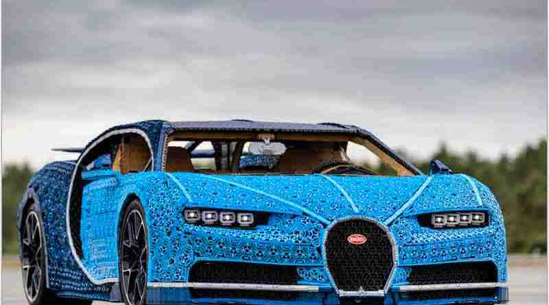 First Ever Life-Size and Drivable LEGOÆ Technic Bugatti Chiron Is a Pioneering Piece of Engineering and Design