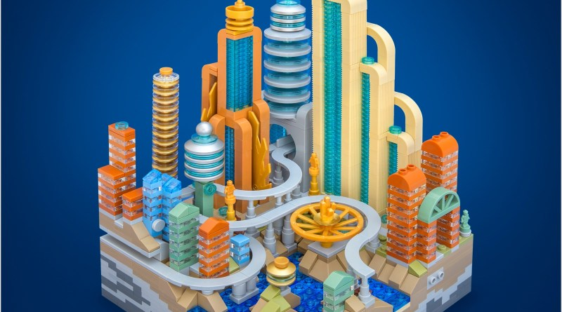 Book Review: LEGO Micro Cities