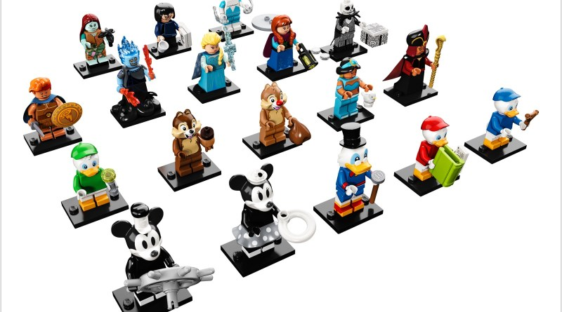 The Second Disney LEGO Minifigure Series is coming May 1!!