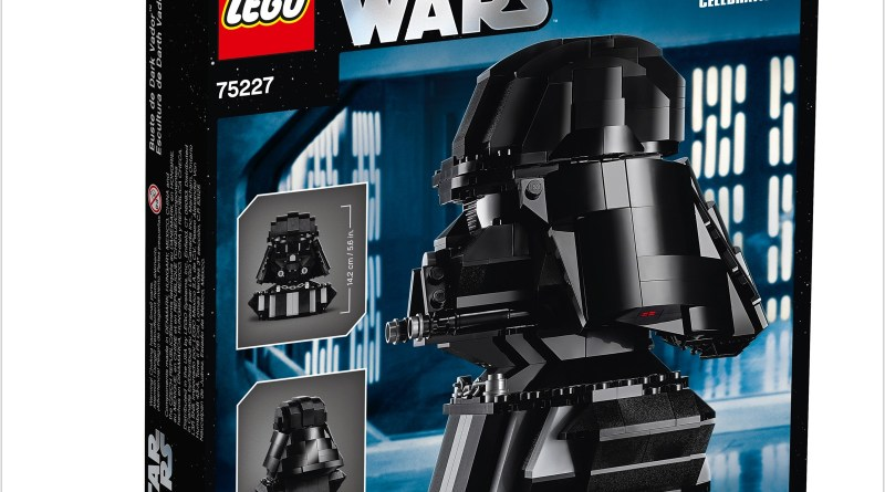 Turn to the Dark Side with the LEGO® Star Wars™ 75227 Darth Vader™ Bust!