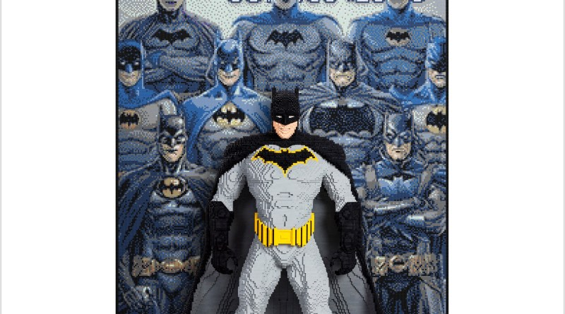 The LEGo Group Reveals Third Life-Size Model fro San Diego Comic-Con: Batman