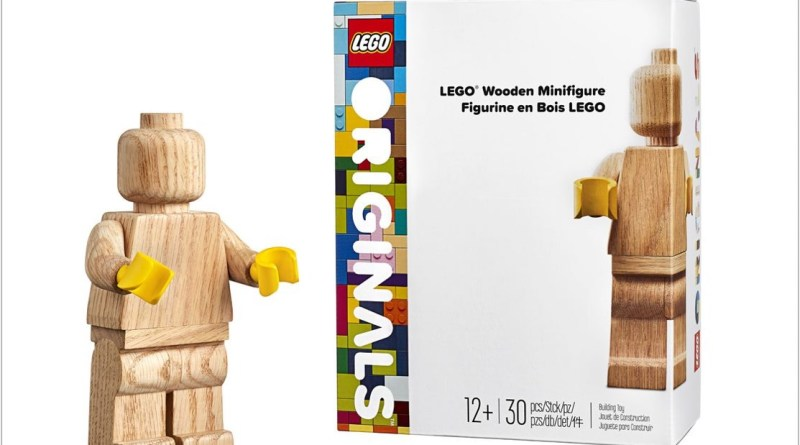 The LEGO Group Releases the Iconic Wooden Minifigure Model for Creative Customization!