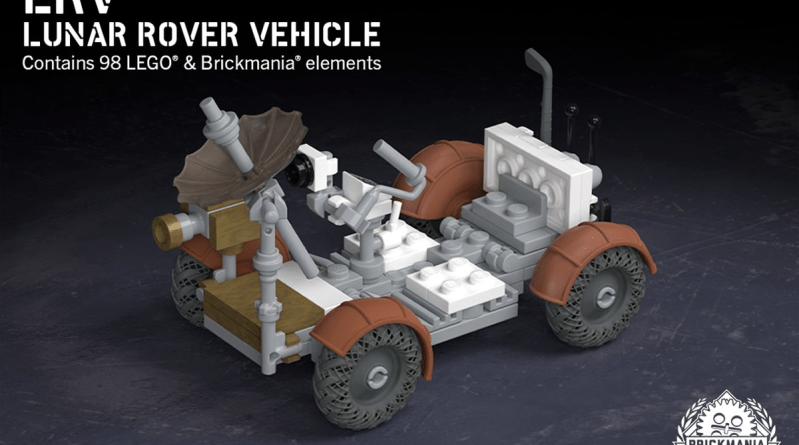 BrickJournal Review: Brickmania's Lunar Rover Vehicle