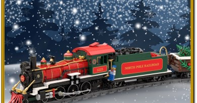 Pre-Order Your BrickTracks North Pole Railroad Set Before the Holiday!