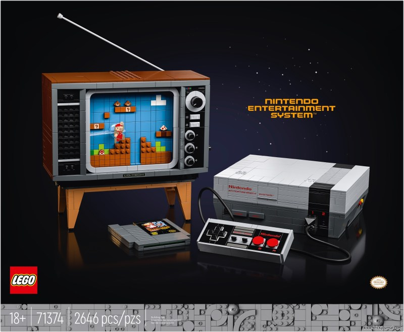 The Lego Group Introduces Lego Edition Of Classic Nintendo Entertainment System Brickjournal