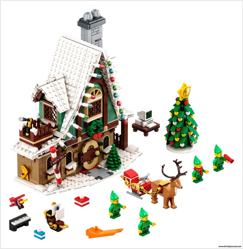 Magic Of Christmas Location Change 2020 Build the LEGO® Elf Club House and Bring the Magic of Christmas