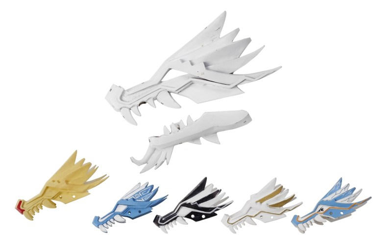 Prototype dragon parts