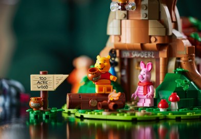 Return to the Hundred Acre Wood With The New LEGO® IDEAS Winnie the Pooh Set!