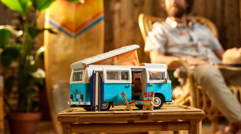 The LEGO Group Welcomes the Summer of Fun with the NEW LEGO VOLKSWAGEN T2 Camper Van Set