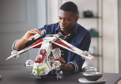Chosen by You, It Is!  LEGO® STAR WARS™ Republic Gunship Construction Set Revealed as Fan Favorite!