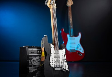 Tune up and Turn Your amp up to 11 as the LEGO Group Reveals the new LEGO® Ideas Fender® Stratocaster® set!