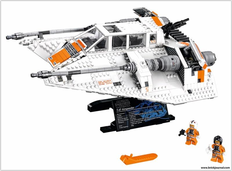 lego star wars snowspeeder 75144 announced