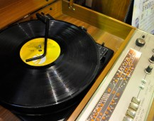 Stall 12 Record Player