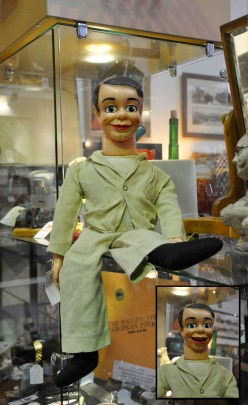 Jimmy Nelson's famous Danny O'Day ventriloquist made by the Duo Novelty Company, New York in original clothing