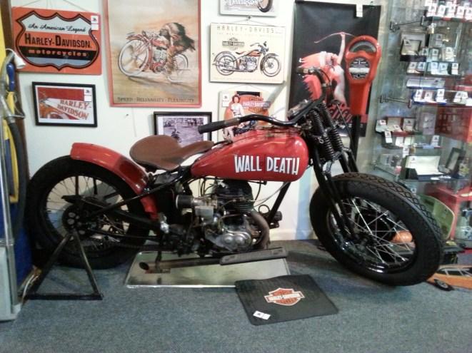 1930 Harley Davidson C Single Wall of Death
