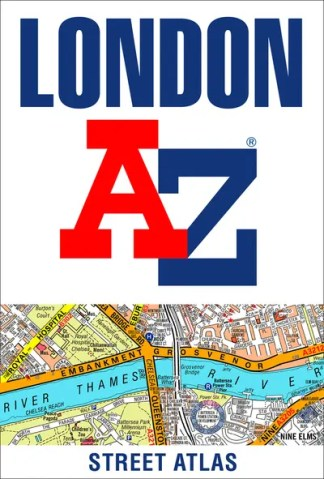 London A-Z street atlas -