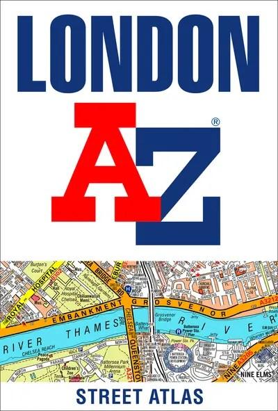 London A-Z street atlas -
