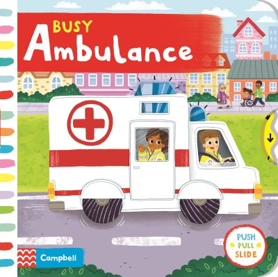 Busy ambulance - Louise,author,a Forshaw