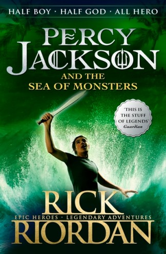 Percy Jackson and the Sea of Monsters: Bk. 2 - Rick Riordan