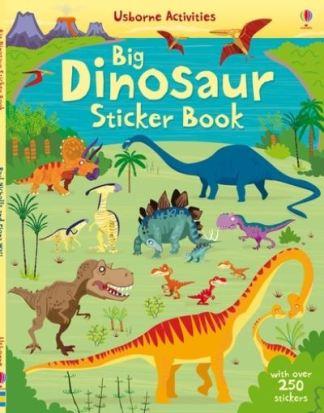 Big Dinosaur Sticker Book - Fiona Watt