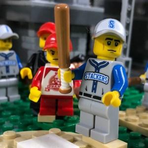 Bill Plater Jones, First Baseman for the Bricklyn Stackers baseball team