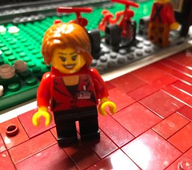 Mary Tiler Fleur, Customer Service Manger for the Bricklyn Dept. of Public Works.