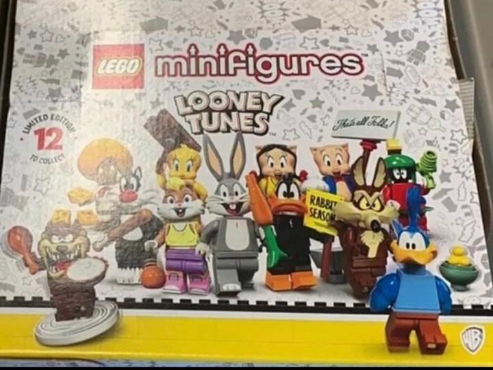 Revelado el listado de LEGO Minifigures Looney Tunes