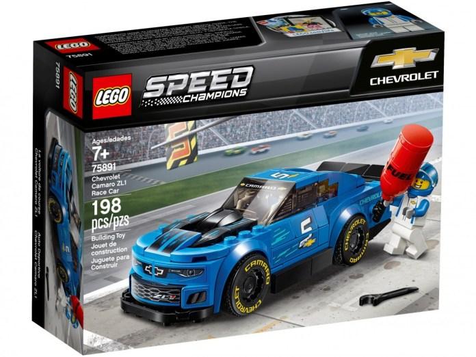 Lego 75891 Offre La Voiture De Course Chevrolet Camaro Zl1 14 99 Le Meilleur Prix
