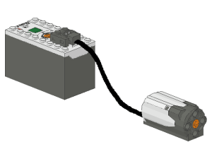 Rechargeable Battery Box with Medium Motor