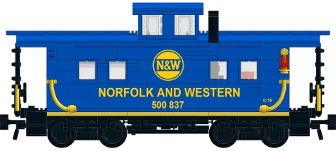 Northeastern Caboose Premium Instructions are Open for Preorder