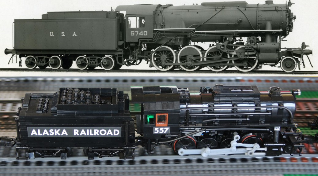Locomotive | Brick Model Railroader