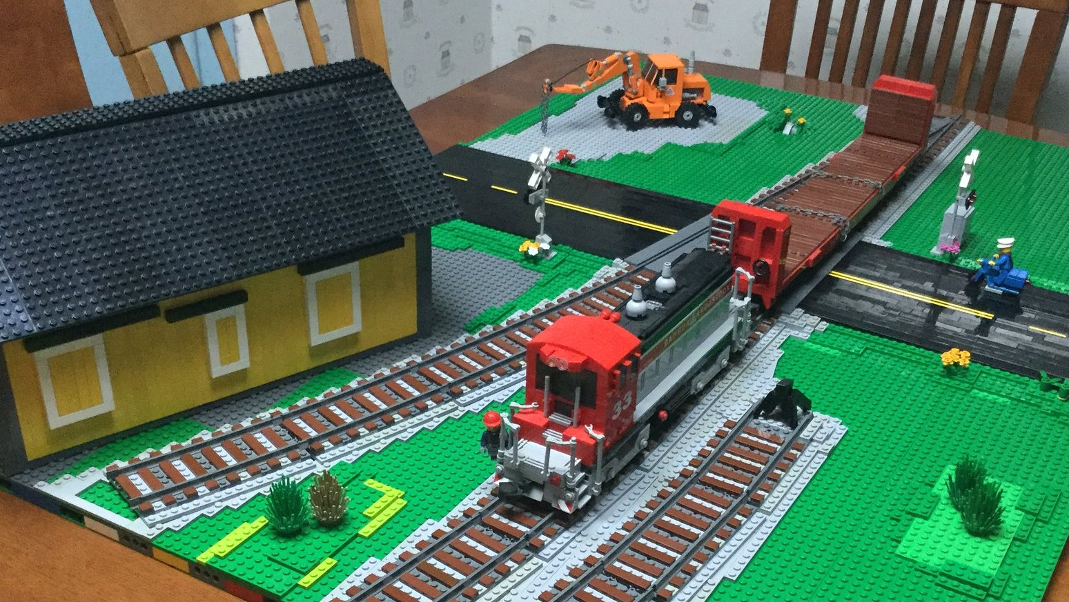 New Lego City Train Wheels fits 9 Volt RC IR Track Rail Sets 2