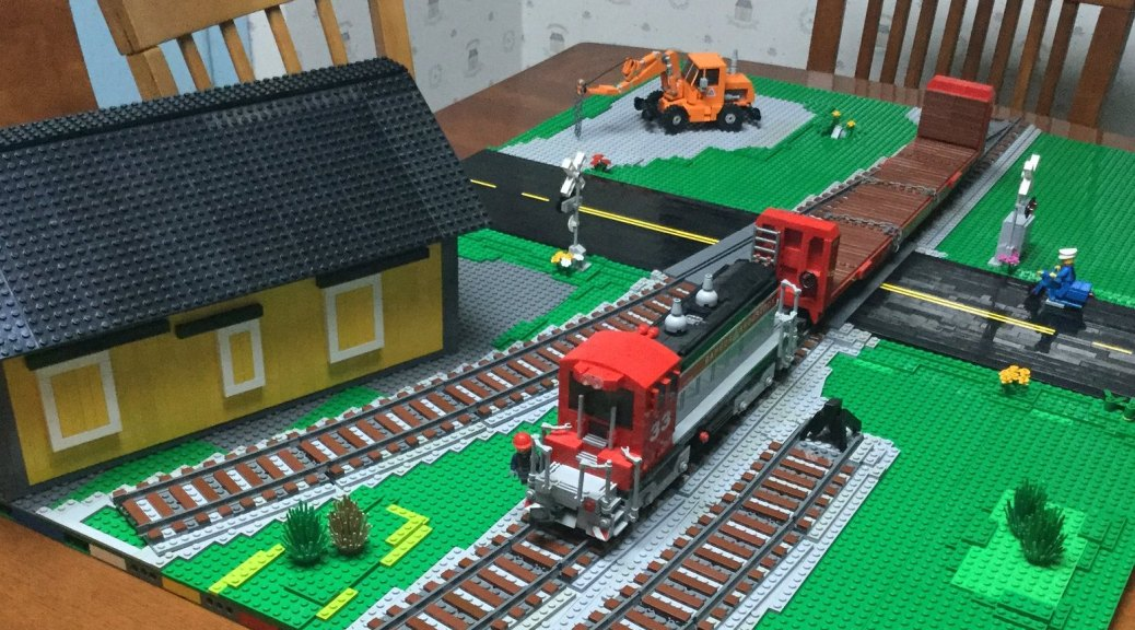Track | Brick Model Railroader