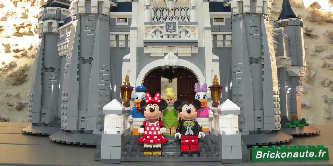 Le Chateau Disney Disney Castle 71040 Review Brickonaute