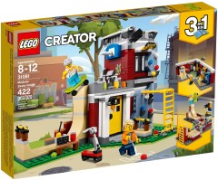 31081 lego creator modular skate house 2