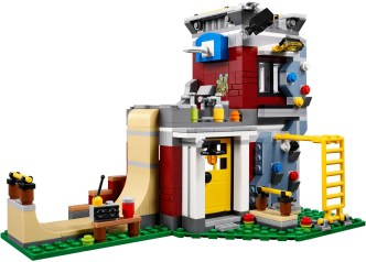 31081 lego creator modular skate house 6