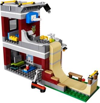 31081 lego creator modular skate house 7