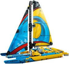 42074 lego technic racing yacht 5