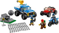 60172 lego city dirt road pursuit 1