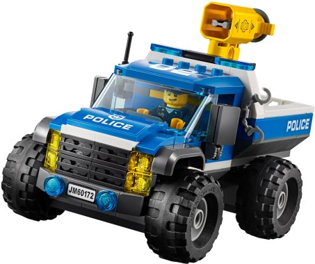 60172 lego city dirt road pursuit 5