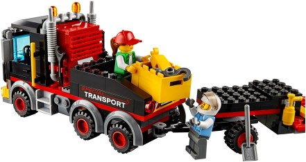 60183 lego city heavy cargo transport 5